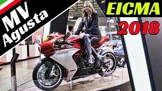 MV Agusta EICMA 2018 - Superveloce 800, Brutale 1000, F4 Claudio Castiglioni & More!