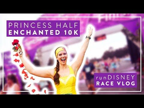 2019 Walt Disney World Princess Half Marathon Weekend Enchanted 10K Vlog