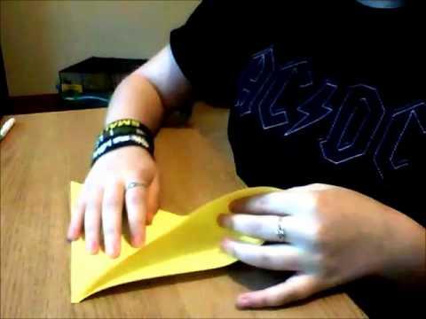 Origami Squash Fold Tutorial Easy Youtube