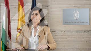 Lengua de signos: Comparecencia de la Presidenta del Gobierno de La Rioja