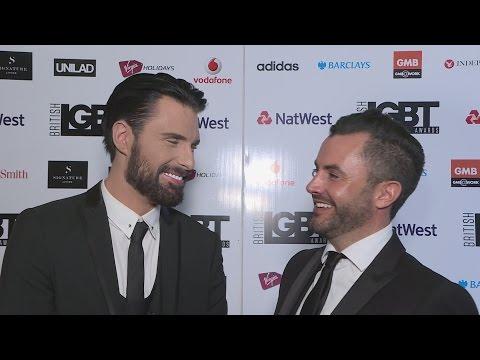 Rylan ClarkNeal jokes husband Dan is a 'headache' at LGBT Awards