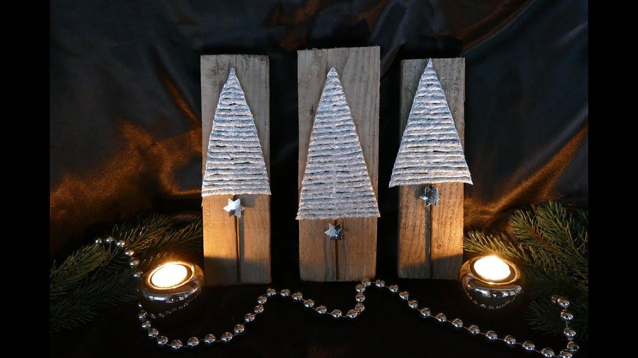 diy tannen basteln weihnachtsdeko christmas decoration einfach youtube. Black Bedroom Furniture Sets. Home Design Ideas