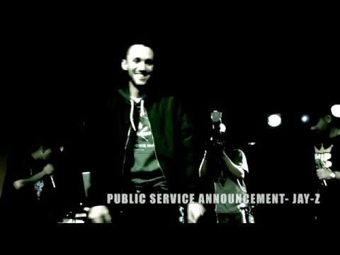 Jay-Z- Public Service Announcement (Hip hop Karaoke Toronto)