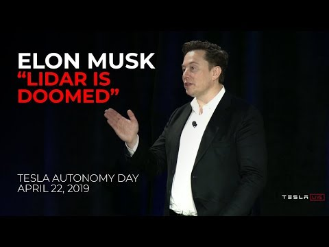 Elon Musk on Cameras vs LiDAR for Self Driving and Autonomous Cars