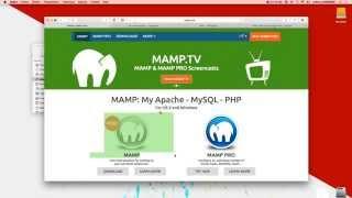 MAMP: Installer PHP & MySQL - Serveur Apache sur Mac Mp3