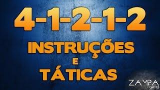 FIFA 16 UT - INSTRUÇÕES E TÁTICAS PERSONALIZADAS NA 4-1-2-1-2 - MELHORE SEU JOGO