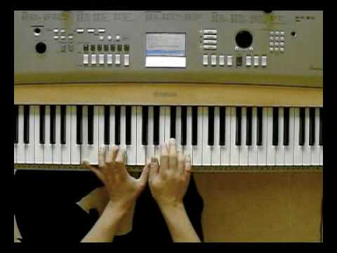 Elan - Neviem byt sam (piano tutorial) by ORiKE