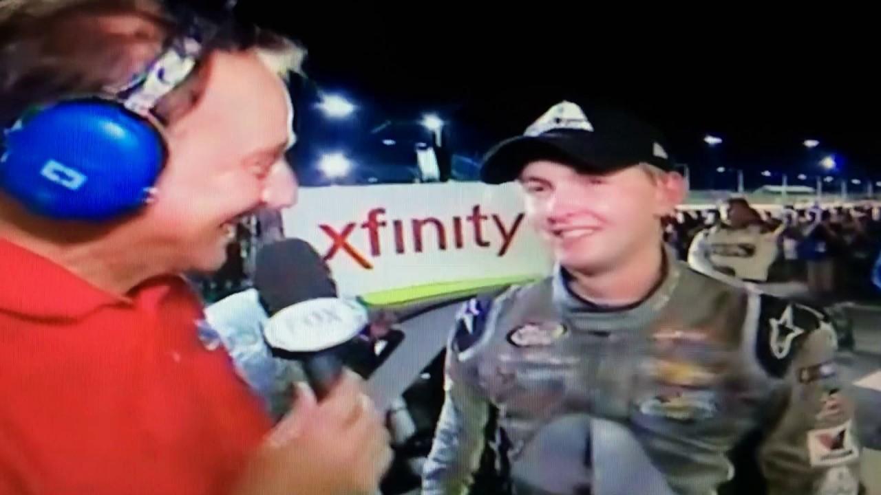 William Byron wins in Iowa for first Xfinity victory