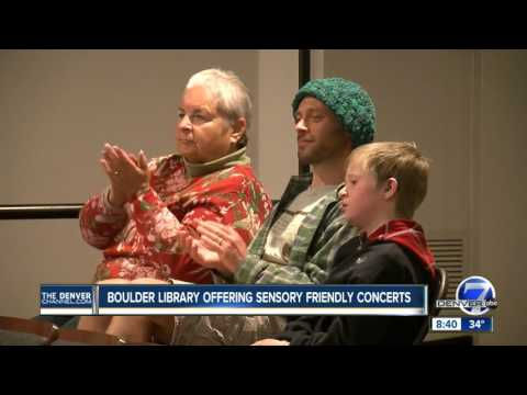 Boulder library offering sensory friendly concerts