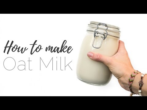 How to make OAT MILK & Warming Christmas drink ❄️ | ZERO WASTE