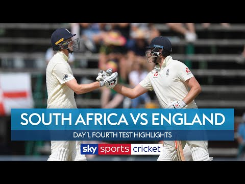 England stutter after Crawley's FIRST fifty! | South Africa vs England | Day 1, 4th Test Highlights