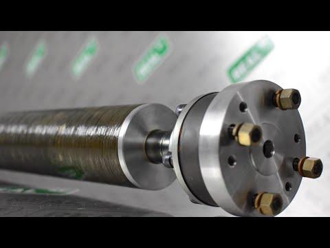TRC Supra Carbon Drive Shaft Shop Install/Test