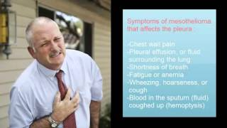 Mesothelioma | Symptoms and Signs