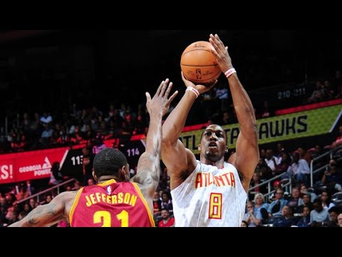 Dwight Howard with 26 Points in ATL Home Debut