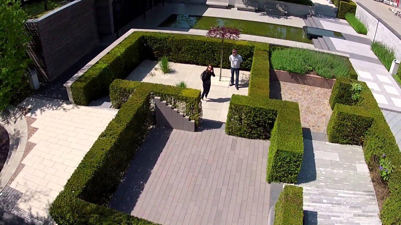 Ideen garten mit steinplatten verlegen wohndesign for Ideen fur terrassenbau