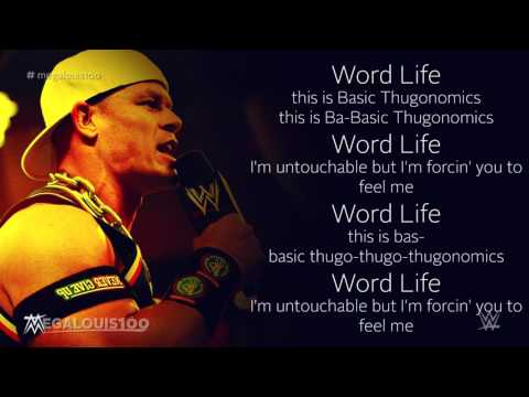"John Cena 5th WWE Theme Song - ""Basic Thugonomics"" with download link and lyrics!"
