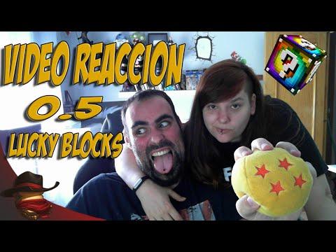 The Lucky Blocks Vídeo Reacción 0.5 | Con LadyFox