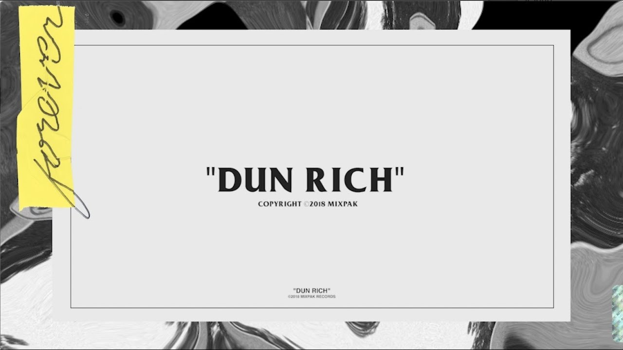 Popcaan - Dun Rich (feat  Davido) [Lyric Video]