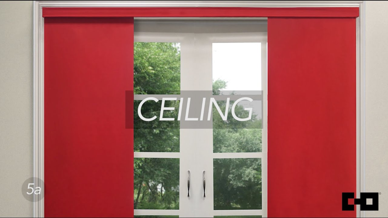 Chicology Home Deluxe Adjustable Sliding Panel Tutorial Ceiling