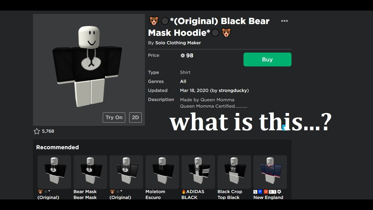 Overpriced Roblox Clothing Youtube