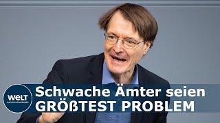Der spd-gesundheitsexperte karl lauterbach kritisiert die gesundheitsämter. zwar seien eine millionen corona-tests pro woche in deutschland möglich, diese ka...
