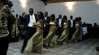 Zambia Wedding Dancing