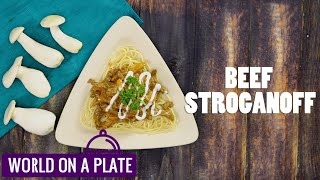 How to make Beef Stroganoff | World on a Plate | Manorama Online Recipe