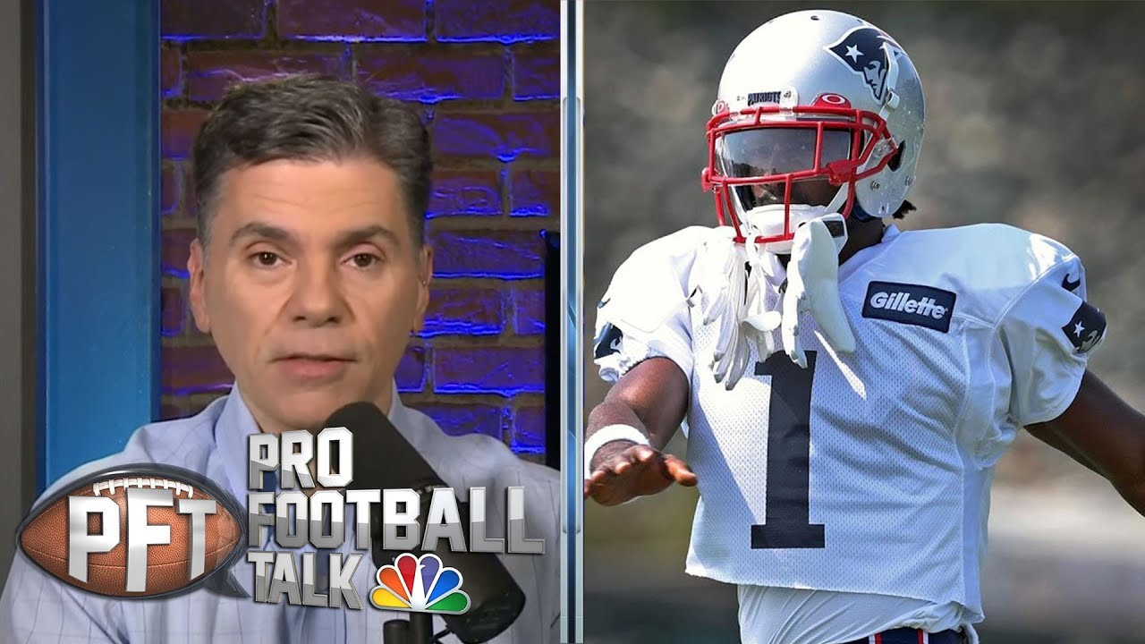 Antonio Brown practices with Patriots for first time | Pro Football Talk | NBC Sports