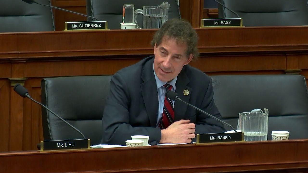 Rep. Raskin Questions DHS Secretary Nielsen - YouTube
