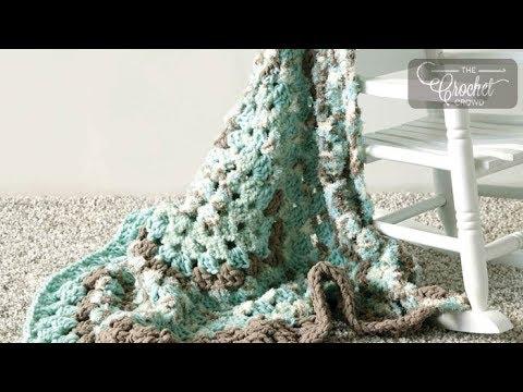 Crochet Fast Baby Blanket