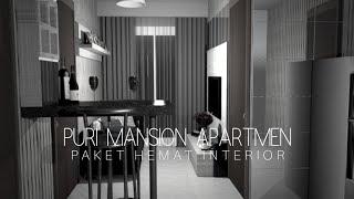 Interior Puri Mansion Apartemen Hemat
