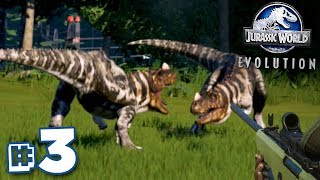 MOAR CARNIVORES!!! - Jurassic World Evolution - HARD CHALLENGE MODE | Ep3 HD