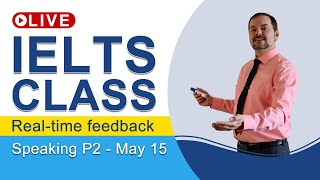 IELTS Live - Speaking Part 2 - Band 9 Mini-speech