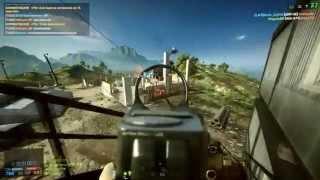 Battlefield 4 Gameplay R9 270x (720p)