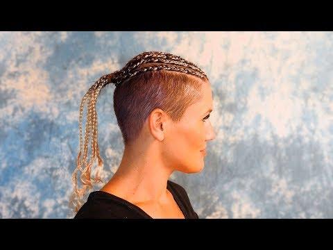 Lisa: So Chic Und Apart Mit Cornrows In Superkurzem Haar!