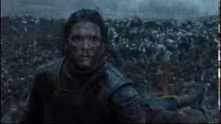 Дом Аррен спасают армию джона сноу - Игра престолов 6x09