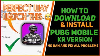 How To Download Pubg Mobile Kr Version In Ios Devices? In 3-minute