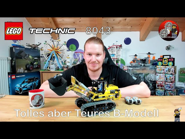 Tolles aber Teures B-Modell   Lego® 8043 B-Modell Review   Lego® Technic 8043 Raupenbagger
