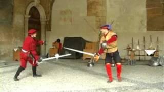 Video Duello rinascimentale di spada e brocchiere download MP3, 3GP, MP4, WEBM, AVI, FLV Juni 2018