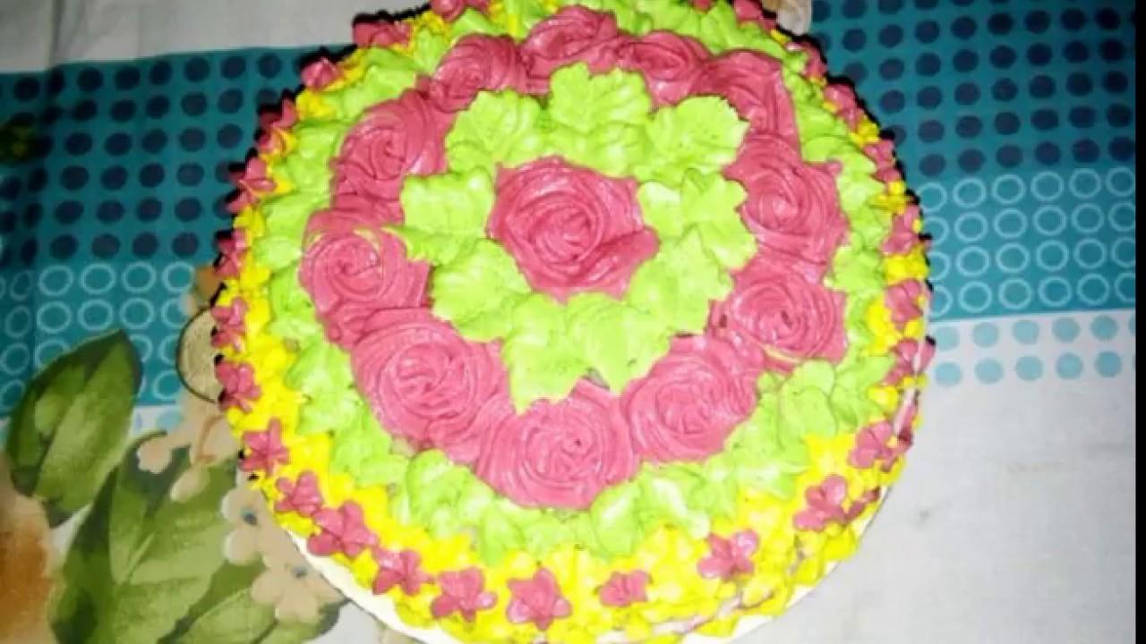 Birthday Cake I Make This Lovely Cake For My Loving Husband Youtube