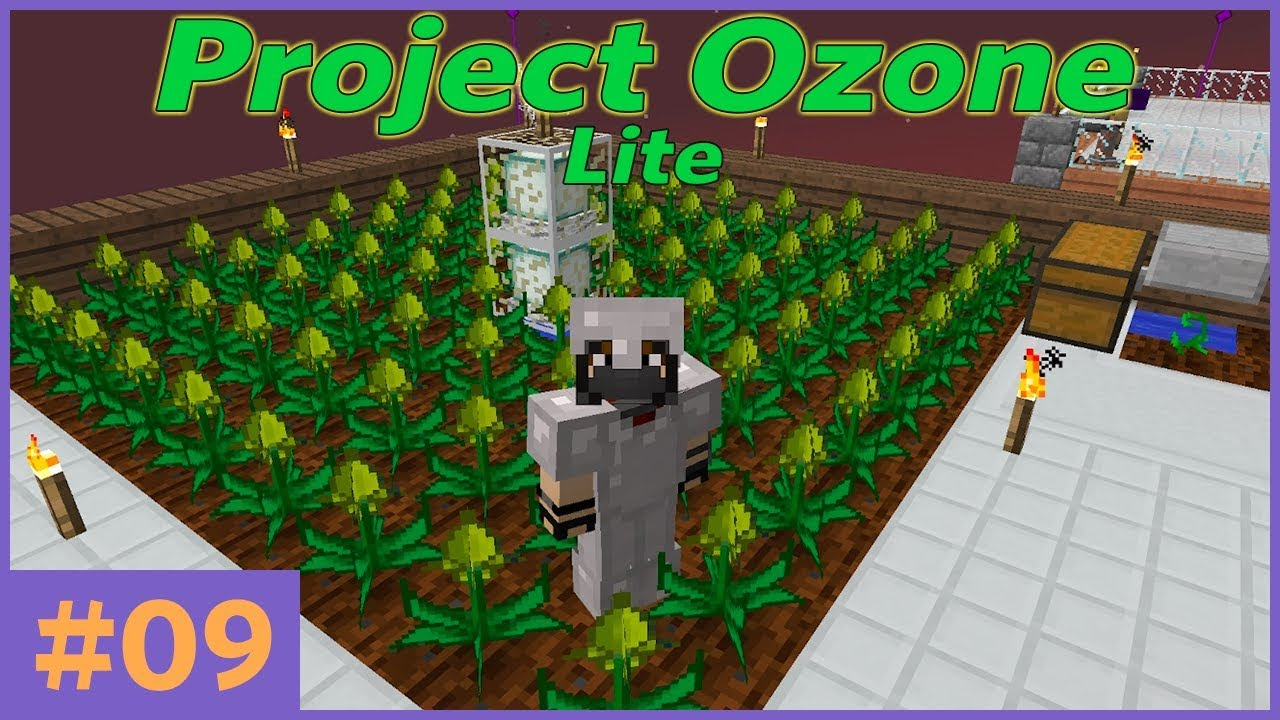 HermitCraft - Project Ozone Lite - E9 - More Mystical Agriculture