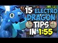 15 QUICK Tips About: Electro Dragon⚡️ - Clash Royale