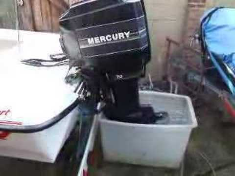 Force Outboard Motor Wiring Diagram Mercury 70hp Outboard 2 Stroke Youtube