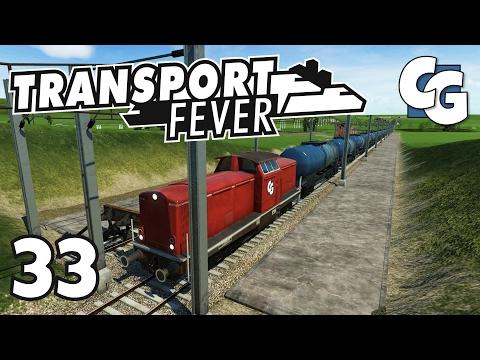 Transport Fever - Ep. 33 - Longest Train Ever! - Transport Fever Gameplay