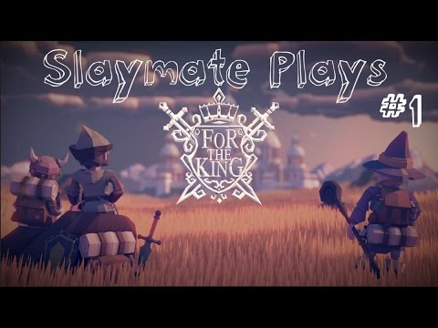 Let's Play For The King - Hardcore First Attempt - Challenging Turn Based Strategy Rpg Adventure.