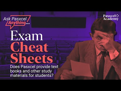 Does Pasxcel Provide ALL The Study Materials For Their Students?