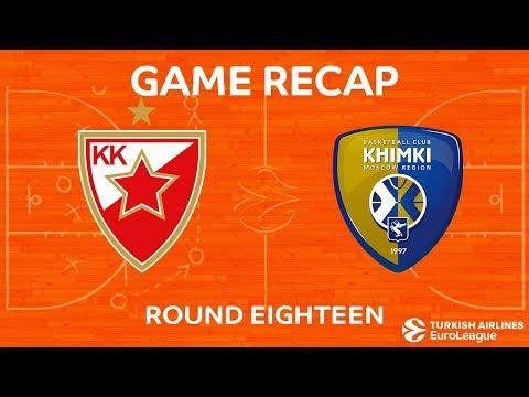 Highlights: Crvena Zvezda mts Belgrade - Khimki Moscow region