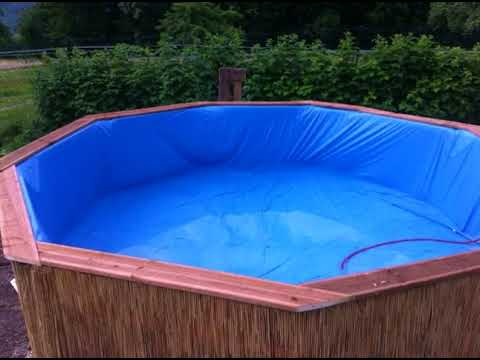 pool selbst bauen ideen youtube. Black Bedroom Furniture Sets. Home Design Ideas