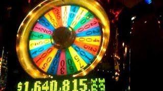 High Rollers Wheel of Fortune slot bonus! $100 a spin