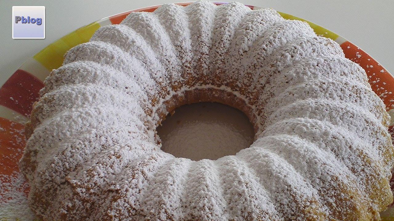 Ciambella Bimby Senza Burro.Torta Ciambellone All Acqua Bimby Tm5 Ricetta Senza Latte Lattosio